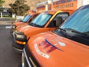 Water Damage Palm Coast Vans Parked